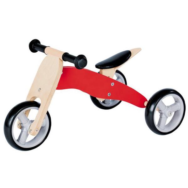 Pinolino Mini-Laufrad ´´Charlie´´, rot/natur