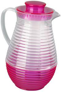 Getränkekrug mit Eisbehälter - aus Kunststoff - 2 Liter - 1 Stück
