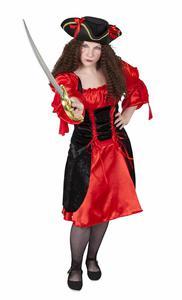 Kostüm - Piratenprinzessin, 2-teilig, für Erwachsene
