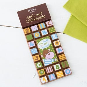 Sags mit Schokolade ´´Schulanfang´´ 70g 4,27 € / 100g
