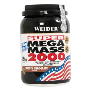 Mass Gainer Super Mega Mass 2000 Schoko 1,5 kg WEIDER