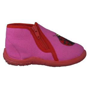 Lauflernhausschuhe, pink