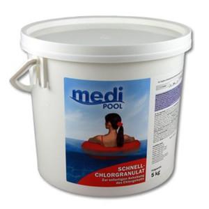 mediPOOL Schnell-Chlor Granulat 5 kg