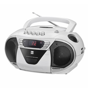 Dual Portable Boombox P65 - Weiß
