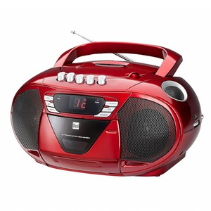 Dual Portable Boombox P65 - Rot