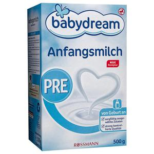 babydream Anfangsmilch PRE