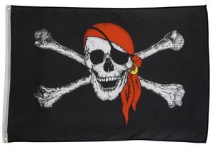Piratenflagge 150x90cm - 1 Stück
