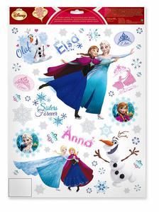 Fenstersticker Disney Die Eiskönigin, selbstklebend, 42x30 cm