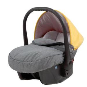 knorr-baby Babyschale ´´Voletto Happy Colour´´, grau-gelb