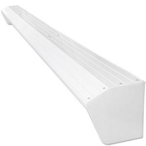 Regenschutzdach für Gelenkarm-Markise 4 m weiß