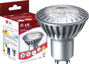 LED Retrofit GU10 / 3,5 Watt / warmweiß LG