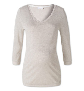 Umstands-Pullover in Grau