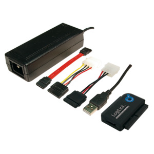 LogiLink USB 2.0 zu IDE & SATA Adapter