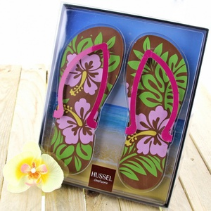 Schoko-Flip Flops, Blume 200g 4,99 € / 100g