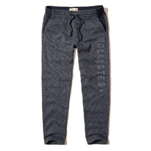 Graphic Straight-Leg Sweatpants