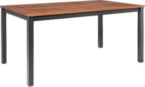 Summer Casual Alu-Gartentisch mit Holzplatte 150 x 90 cm, braun