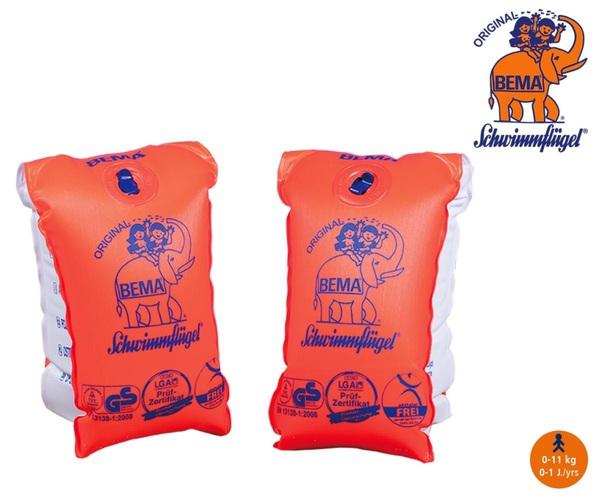 BEMA® Schwimmflügel - Gr.00, 0-11 kg - orange