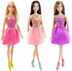 1 Barbie im Glitzerkleid - verschiedene Ausführungen erhältlich