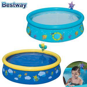 Bestway Kinderpool mit Wassersprüher 152x38cm