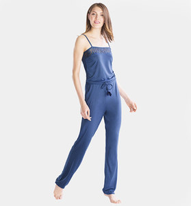 Jumpsuit in Blau