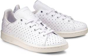 Sneaker STAN SMITH von Adidas Originals in weiß für Damen. Gr. 36 2/3,37 1/3,38,38 2/3,39 1/3,40,40 2/3,41 1/3,42
