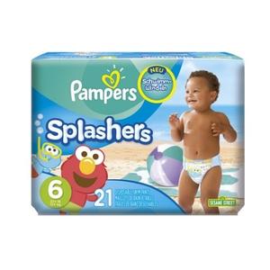 Pampers - Schwimmwindel Splasher Gr.6