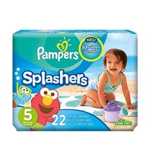 Pampers - Schwimmwindel Splasher Gr.5