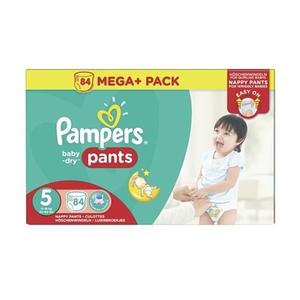 Pampers Windeln Mega Pack Baby Dry Pants Gr. 5 (84 Stück)