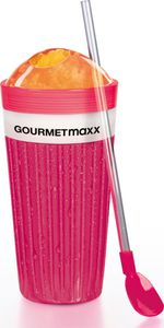 GOURMETmaxx Slush Ice Becher, rot