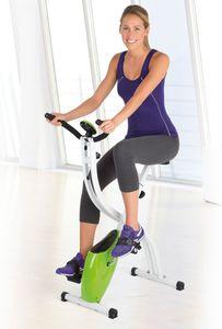 VITALmaxx Heimtrainer Fitness Bike, limegreen