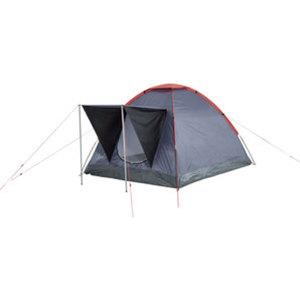 Louis Einwand-Zelt        schwarz/grau/rot