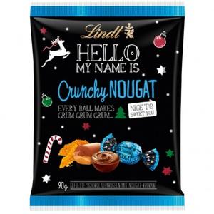 Lindt Hello Xmas Crunchy Nougat 90g 3,21 € / 1000g