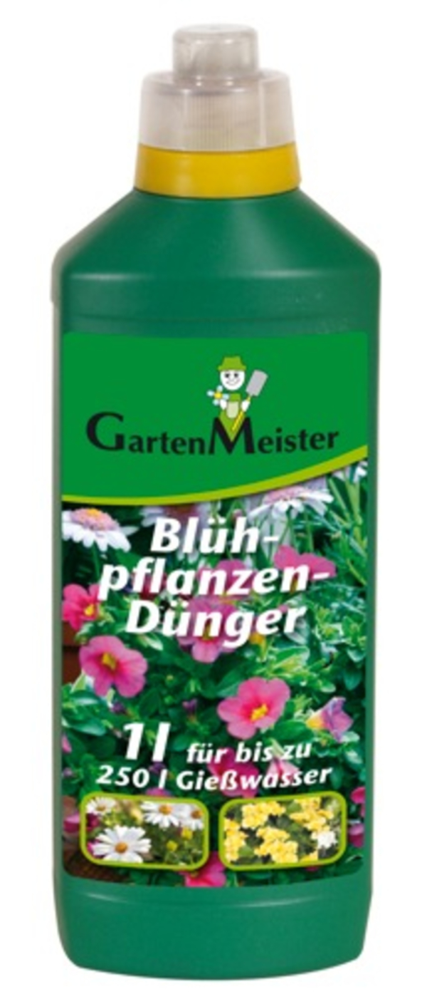 Blühpflanzendünger, flüssig 1 l GartenMeister