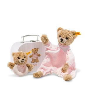Steiff Geschenkset Schlaf-gut-Bär, rosa