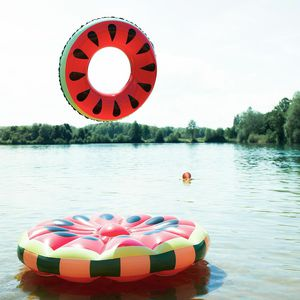 Schwimmring Melone, D:89cm, rot