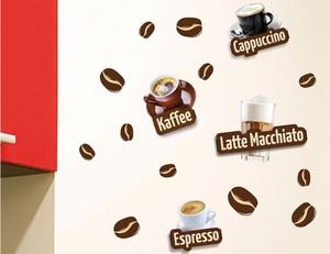 Wandtattoo Coffeetime 3D