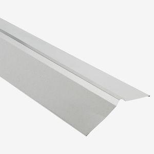 Dachfirst für Trapezbleche 100 cm silbern