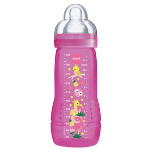 MAM Easy Active Baby Bottle Mädchen