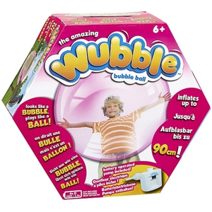 Vivid - Super Wubble Bubble Ball mit Pumpe, pink