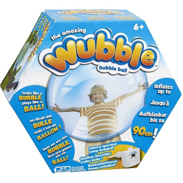 Vivid - Super Wubble Bubble Ball mit Pumpe, blau