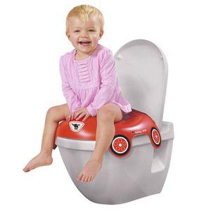 BIG   Toilettensitz Bobby Car rot