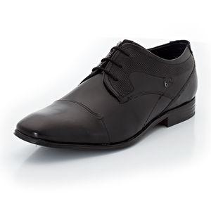 Bugatti Herren-Schnürer, schwarz