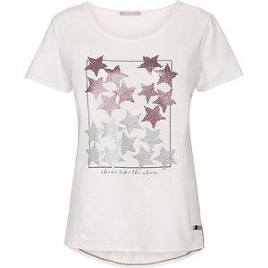 Cecil Damen-Shirt mit Folienprint