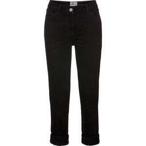 Cecil Damen-Denim-Jeans, schwarz