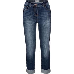 Cecil Damen-Denim-Jeans, blau