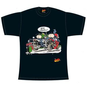 """MOTOmania T-Shirt """"Bitte lächeln"""", schwarz"""
