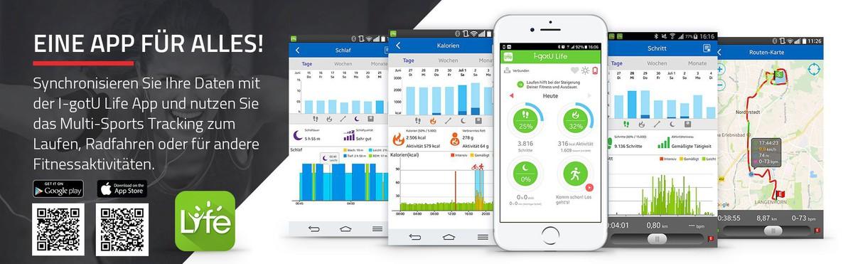 Bild 3 von SportPlus Activity Tracker Q-Band HR+