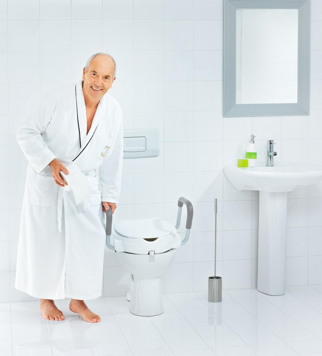 Bild 4 von Ridder WC-Sitz-Erhöhung mit Griffen und Deckel