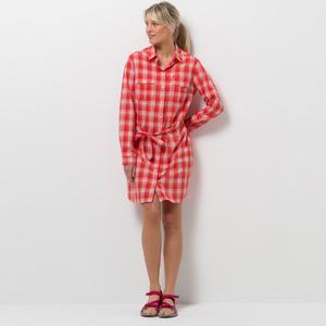 Jack Wolfskin Kleid Rock Chill Dress XXL fiery red checks