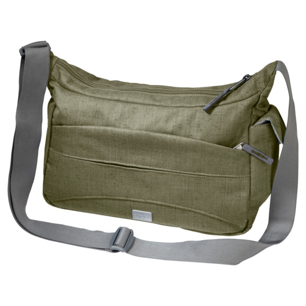 shoes for cheap biggest discount look out for Jack Wolfskin Tasche Boomtown DE Luxe one size khaki von ...
